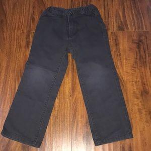 Calvin Klein Jeans dark gray boy pants